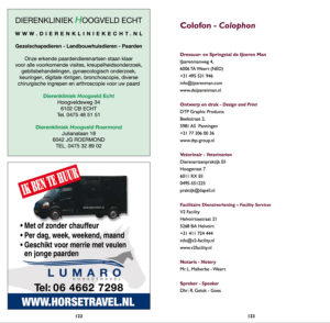 Advertentie Limburgse Veulenveiling